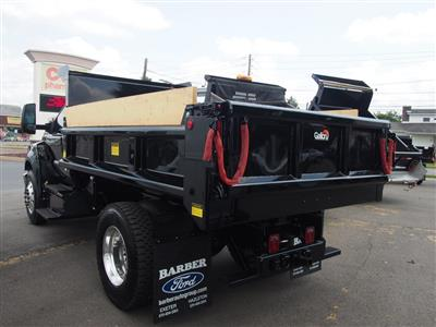 2018 F-650 Regular Cab DRW 4x2,  Galion 100U Dump Body #9516T - photo 6