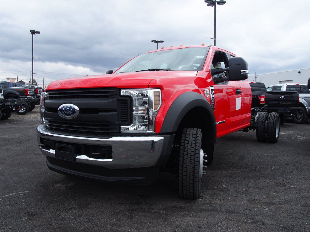 2018 F-450 Super Cab DRW 4x4,  Cab Chassis #9532T - photo 5