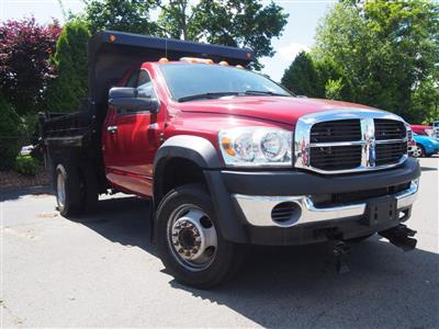 2008 Ram 4500 Regular Cab DRW 4x4,  Dump Body #9533A - photo 3