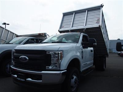 2018 F-350 Regular Cab DRW 4x4,  Duramag Aluminum Landscape Dump #9592T - photo 5