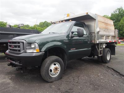 2003 F-350 Regular Cab DRW 4x4, Dump Body #9752A - photo 1