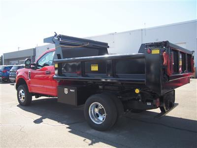 2019 F-350 Regular Cab DRW 4x4,  Galion 100U Dump Body #9758T - photo 2