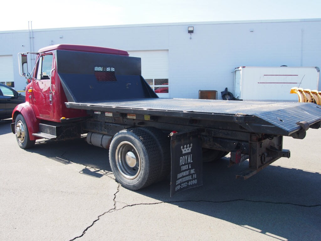 1996 International Truck 4x2,  Platform Body #9769A - photo 2