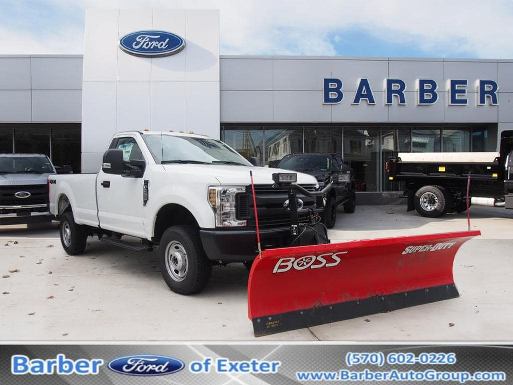 2018 F-250 Regular Cab 4x4,  BOSS Snowplow Pickup #9772T - photo 1
