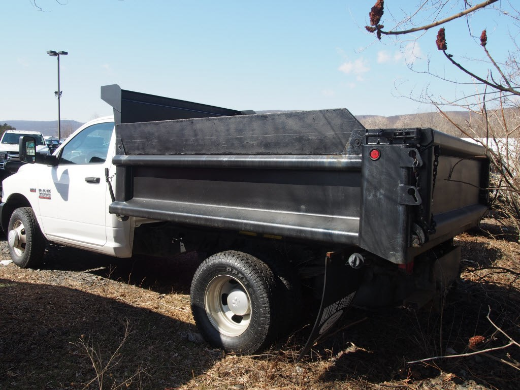 2013 Ram 3500 Regular Cab DRW 4x4,  Dump Body #9791A - photo 2