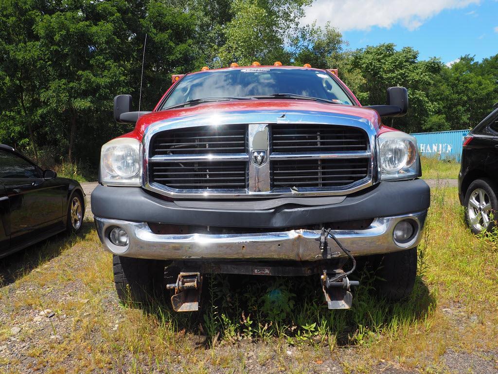 2008 Ram 3500 Quad Cab DRW 4x4, Dump Body #9796A - photo 3