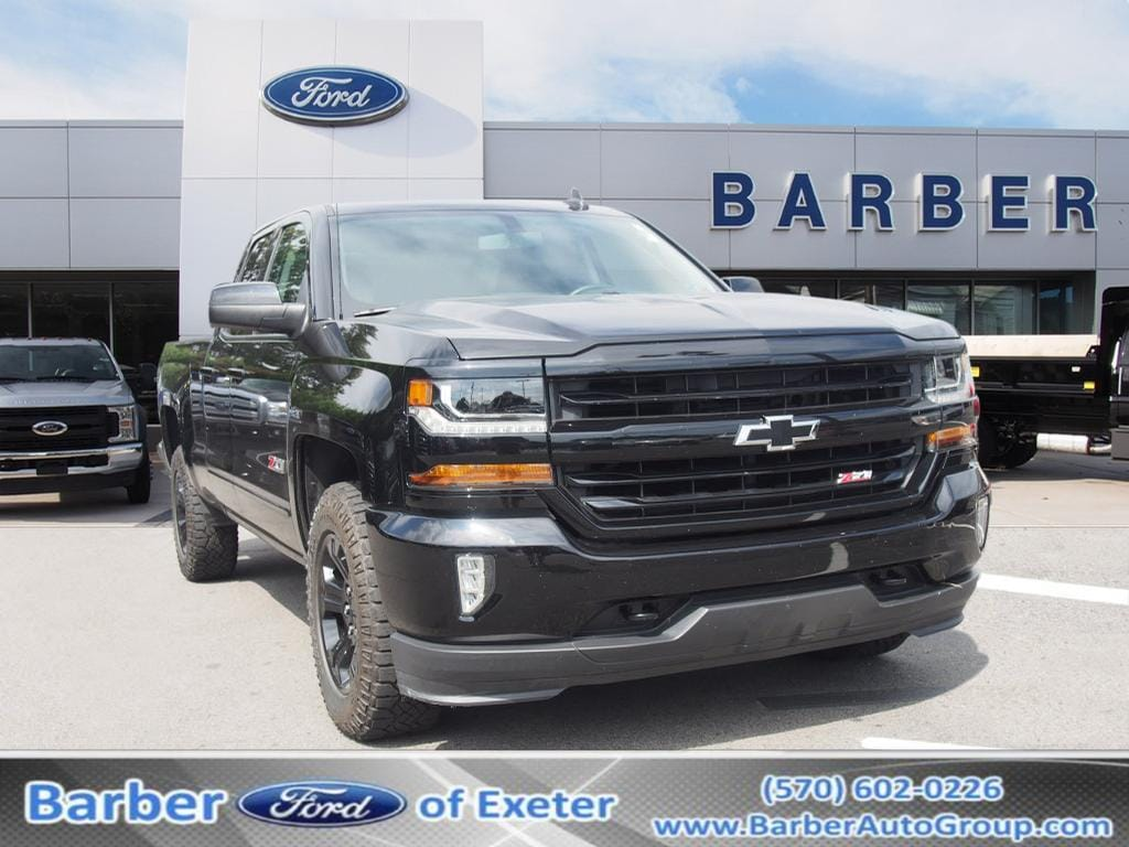 2017 Silverado 1500 Double Cab 4x4,  Pickup #9829A - photo 1