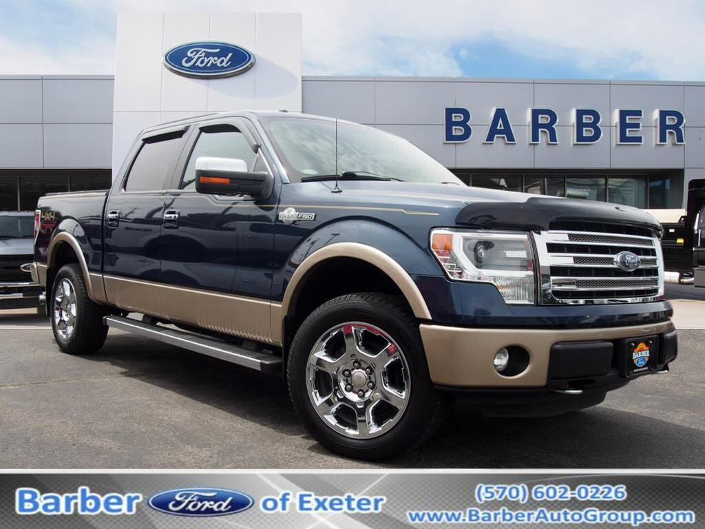 2014 F-150 SuperCrew Cab 4x4,  Pickup #9832A - photo 1