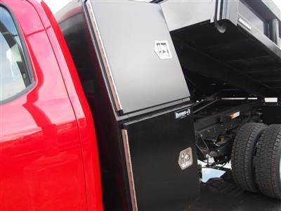 2019 F-550 Super Cab DRW 4x4,  Reading Marauder Standard Duty Dump Body #9853T - photo 10