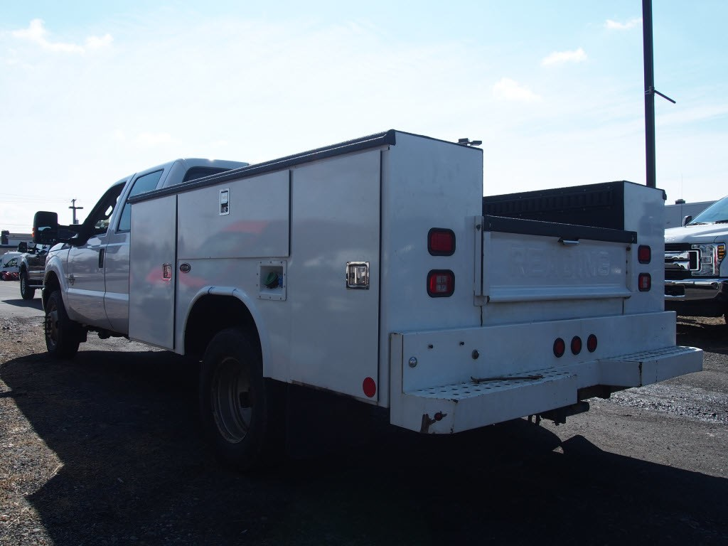 2012 F-350 Crew Cab DRW 4x4,  Reading Service Body #9858A - photo 2