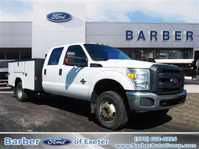 2012 F-350 Crew Cab DRW 4x4,  Reading Service Body #9858A - photo 1