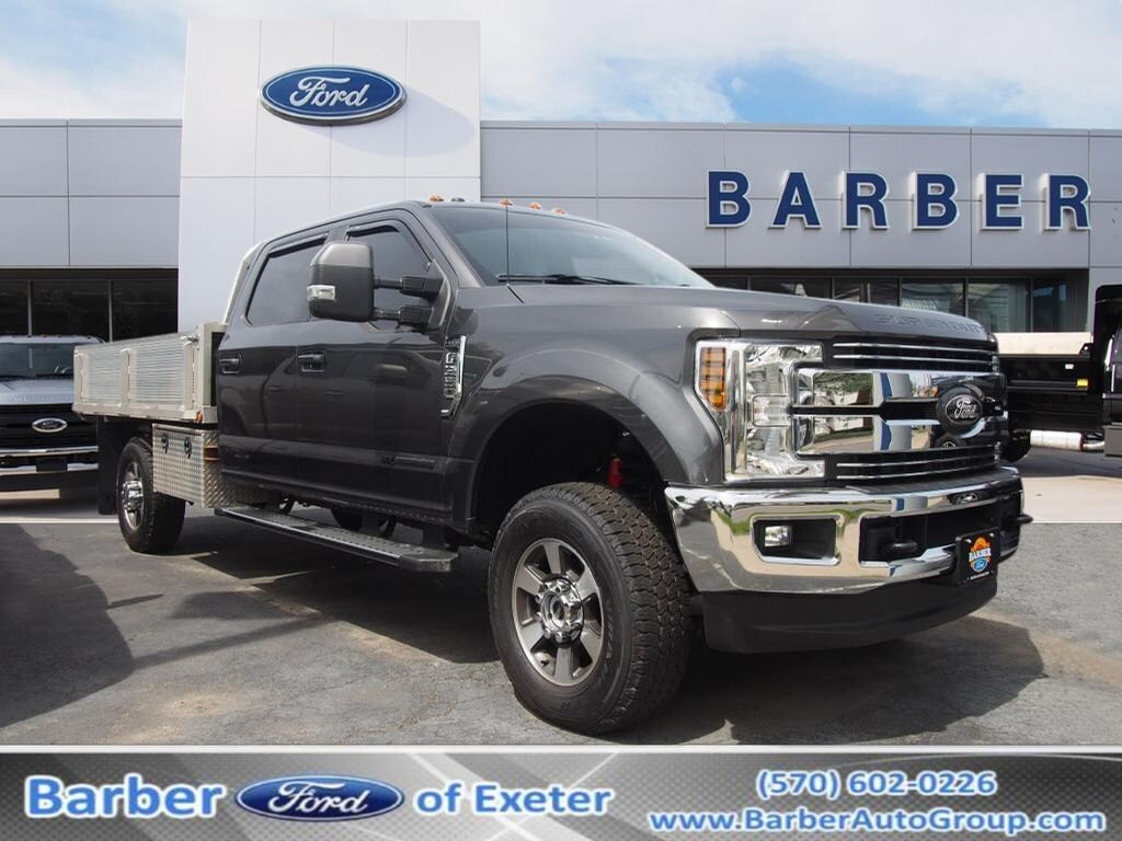 2017 Ford F-350 Crew Cab 4x4, Platform Body #10950B - photo 1