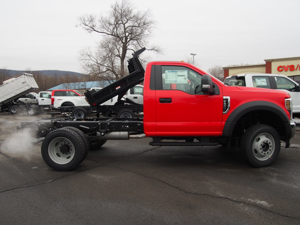 2019 F-550 Regular Cab DRW 4x4,  Duramag Dump Body #9987T - photo 8
