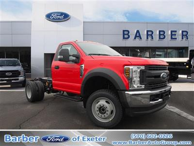 2019 F-550 Regular Cab DRW 4x4,  Duramag Dump Body #9987T - photo 1