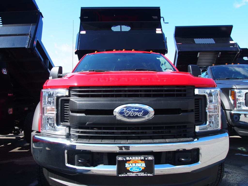 2019 F-550 Regular Cab DRW 4x4,  Dump Body #9996T - photo 3
