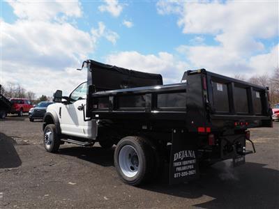2019 F-550 Regular Cab DRW 4x4, Rugby Eliminator LP Steel Dump Body #10632T - photo 4