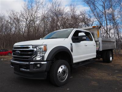 2020 Ford F-550 Crew Cab DRW 4x4, Duramag Dump Body #10538T - photo 6