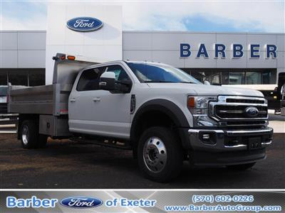 2020 Ford F-550 Crew Cab DRW 4x4, Duramag Dump Body #10538T - photo 1