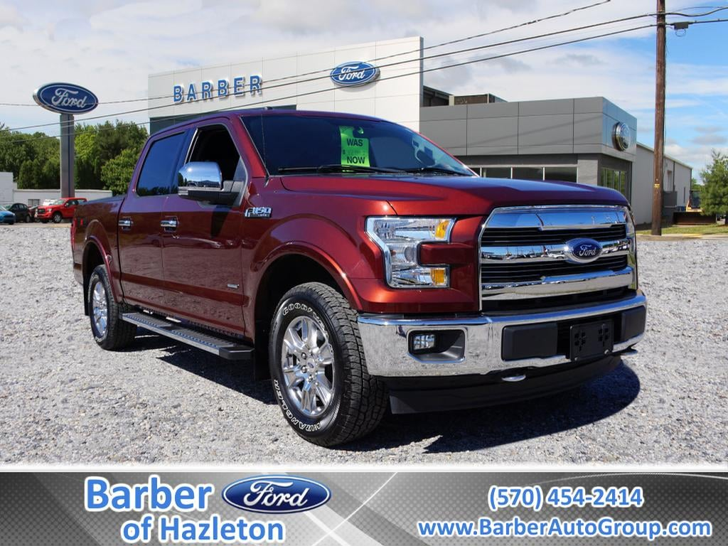 2017 F-150 SuperCrew Cab 4x4, Pickup #H10024A - photo 1