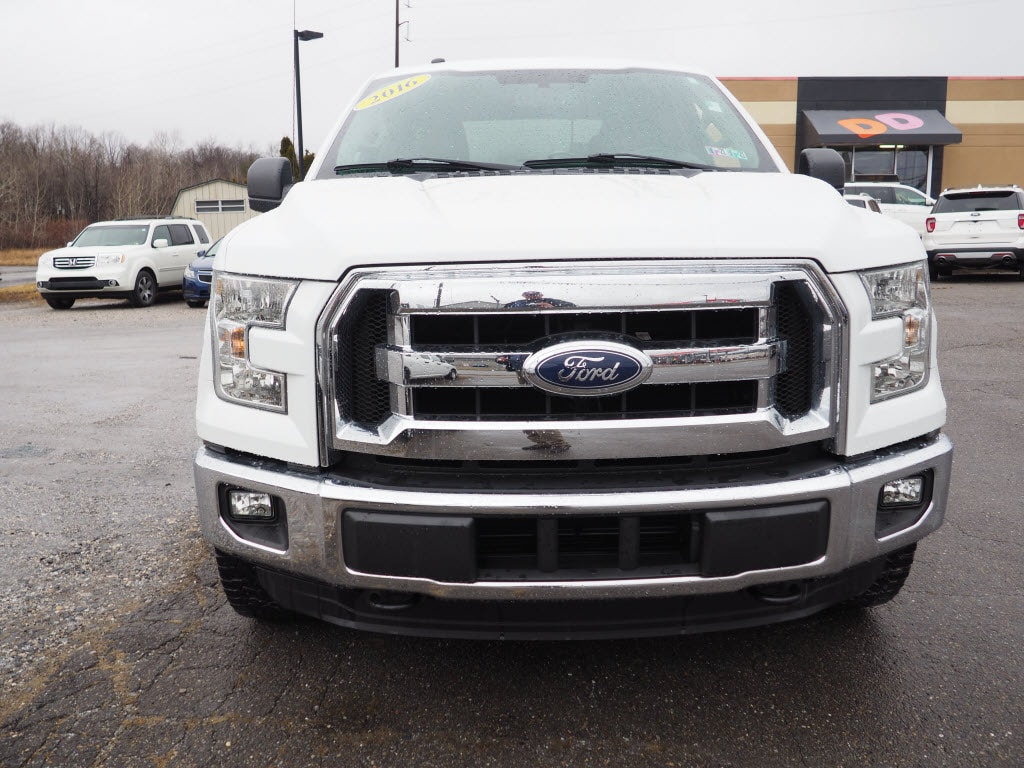 2016 F-150 SuperCrew Cab 4x4, Pickup #H10027A - photo 8