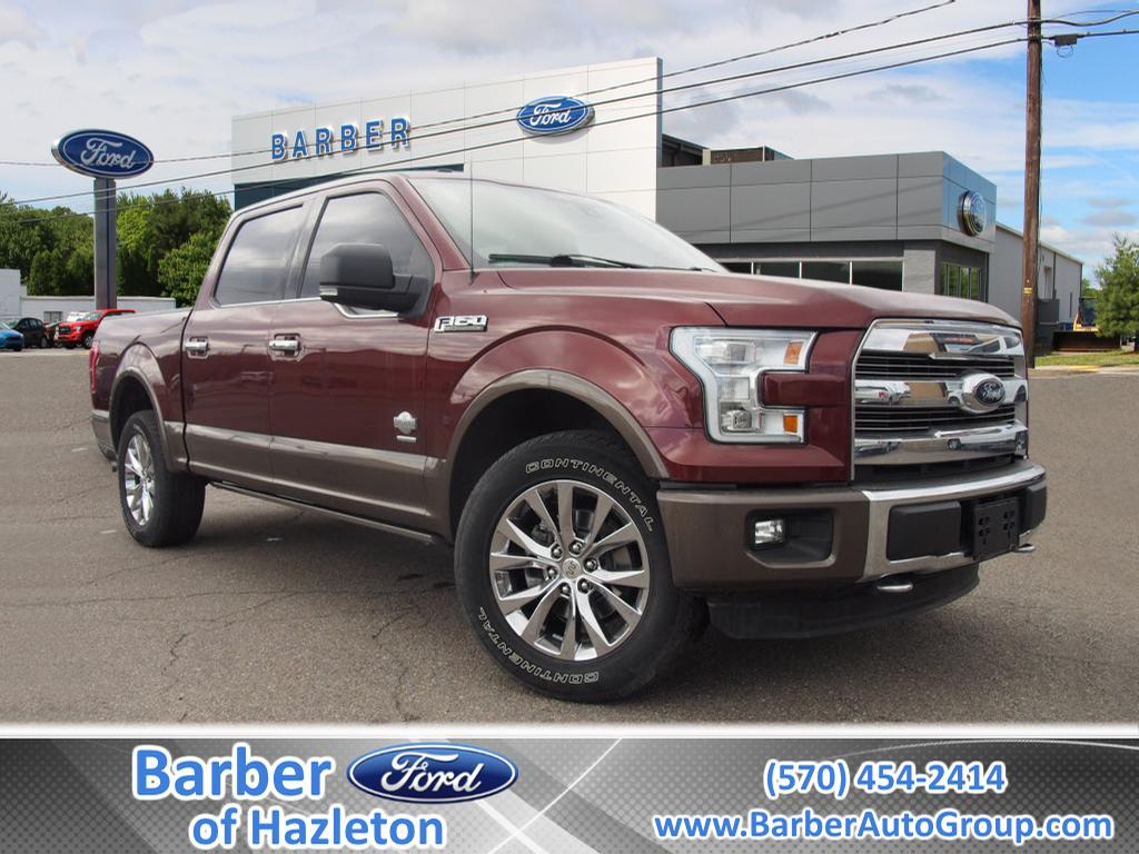 2016 F-150 SuperCrew Cab 4x4, Pickup #H9782B - photo 1