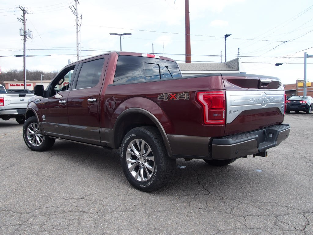 2016 F-150 SuperCrew Cab 4x4, Pickup #H9782B - photo 8