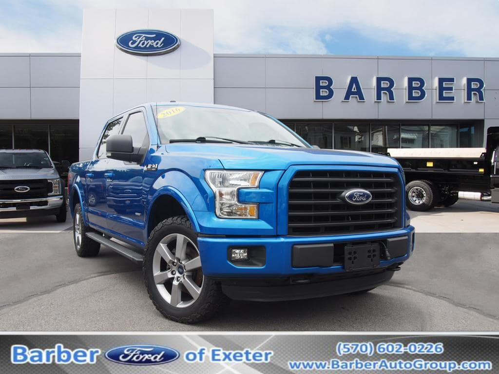 2016 F-150 SuperCrew Cab 4x4,  Pickup #P4782B - photo 1