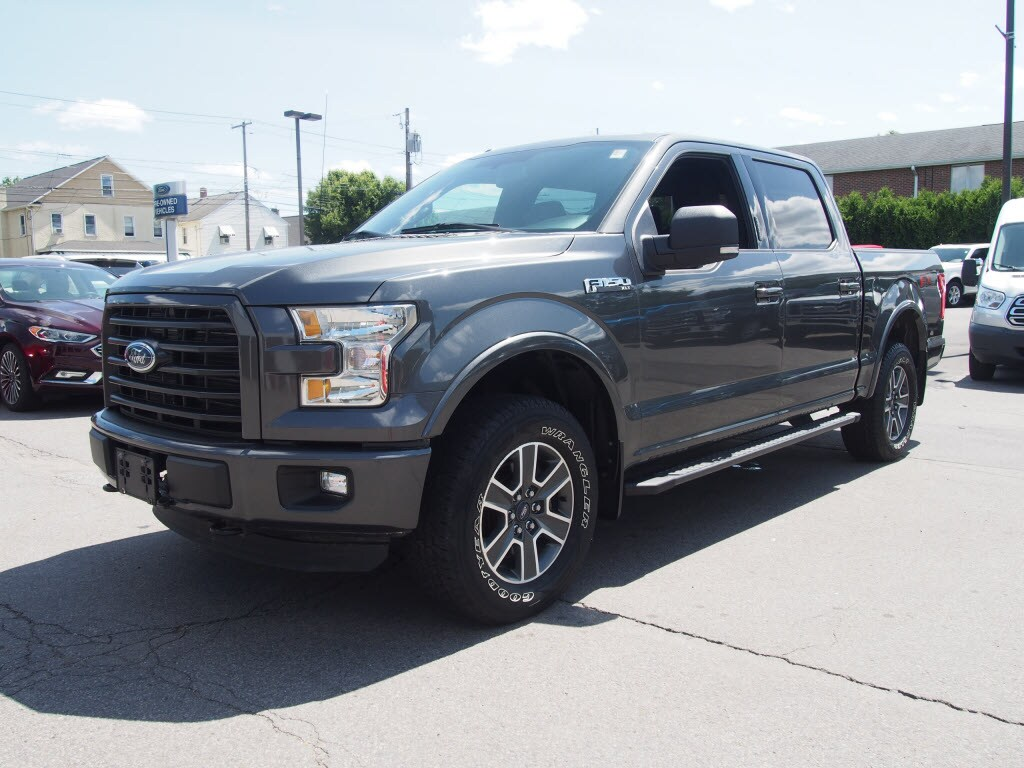 2015 F-150 SuperCrew Cab 4x4,  Pickup #P4800B - photo 5