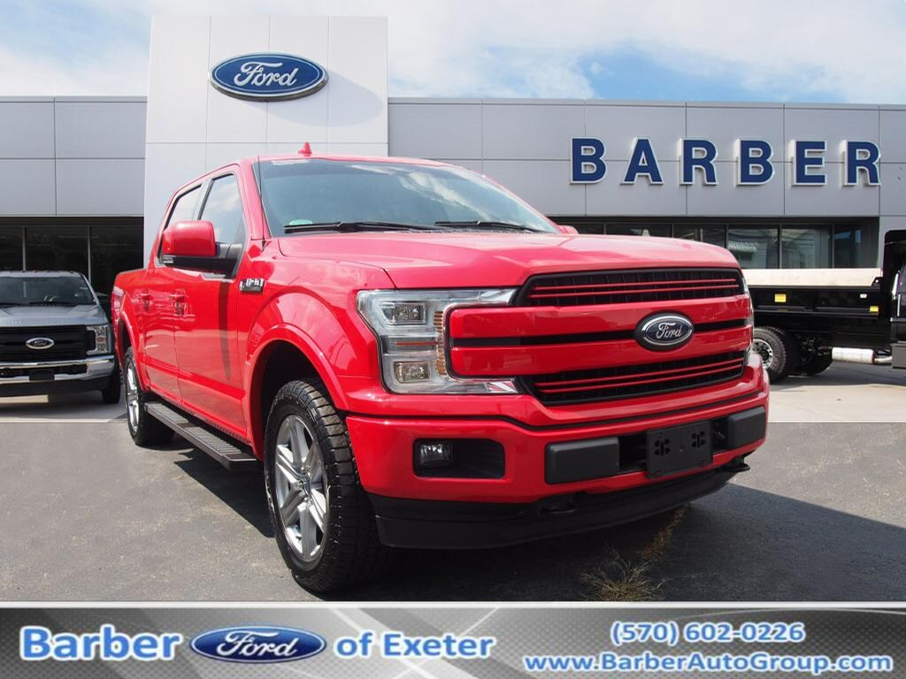 2018 F-150 SuperCrew Cab 4x4, Pickup #P4834B - photo 1