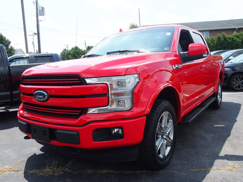 2018 F-150 SuperCrew Cab 4x4, Pickup #P4834B - photo 4