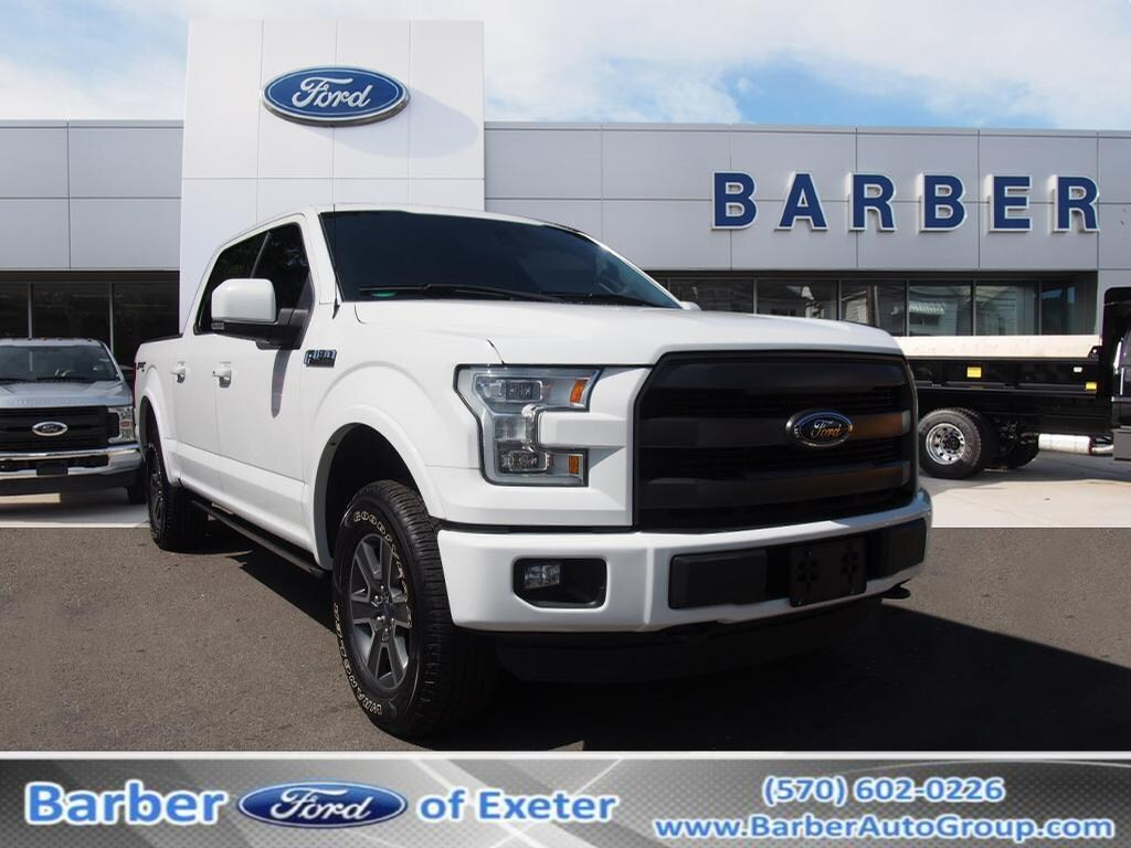 2016 F-150 SuperCrew Cab 4x4,  Pickup #P4838B - photo 1