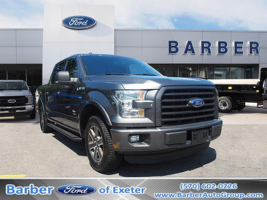 2015 F-150 SuperCrew Cab 4x2,  Pickup #P4846B - photo 1