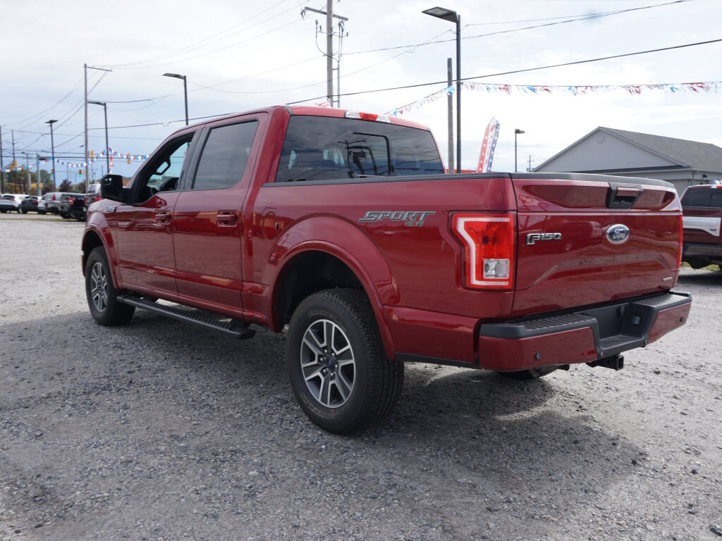 2016 F-150 SuperCrew Cab 4x4, Pickup #P4862B - photo 5