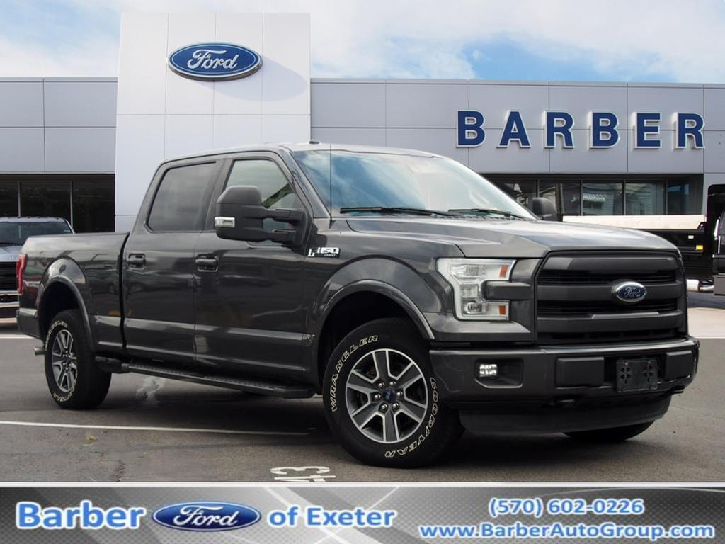2016 F-150 SuperCrew Cab 4x4, Pickup #P4873B - photo 1