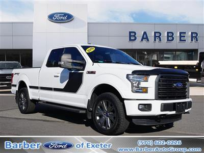 2016 F-150 Super Cab 4x4, Pickup #P4919B - photo 1
