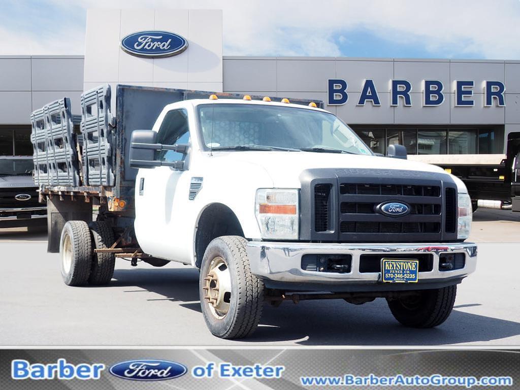2008 Ford F-350 Regular Cab DRW 4x4, Stake Bed #P5108B - photo 1