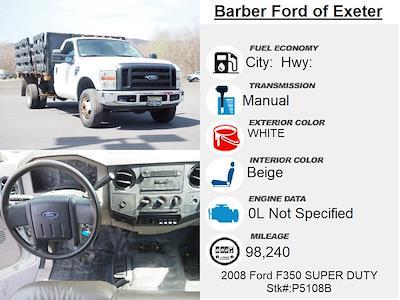 2008 Ford F-350 Regular Cab DRW 4x4, Stake Bed #P5108B - photo 4