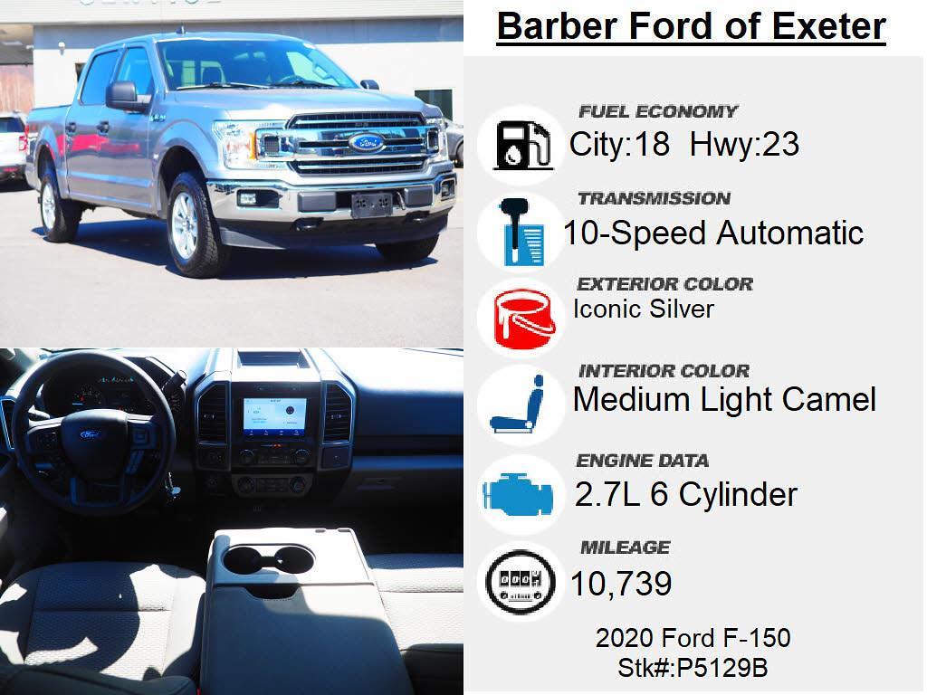 2020 Ford F-150 SuperCrew Cab 4x4, Pickup #P5129B - photo 4