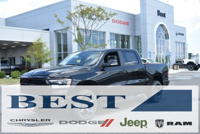 2019 Ram 1500 Crew Cab 4x4,  Pickup #90116 - photo 1