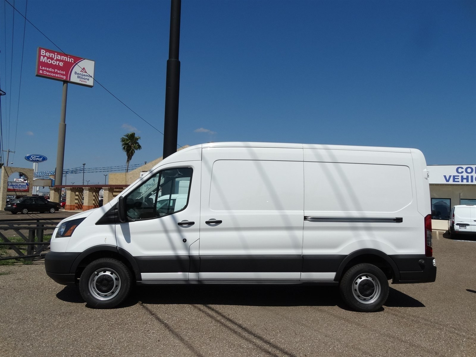 2017 Transit 250 Med Roof,  Empty Cargo Van #FA51992 - photo 2