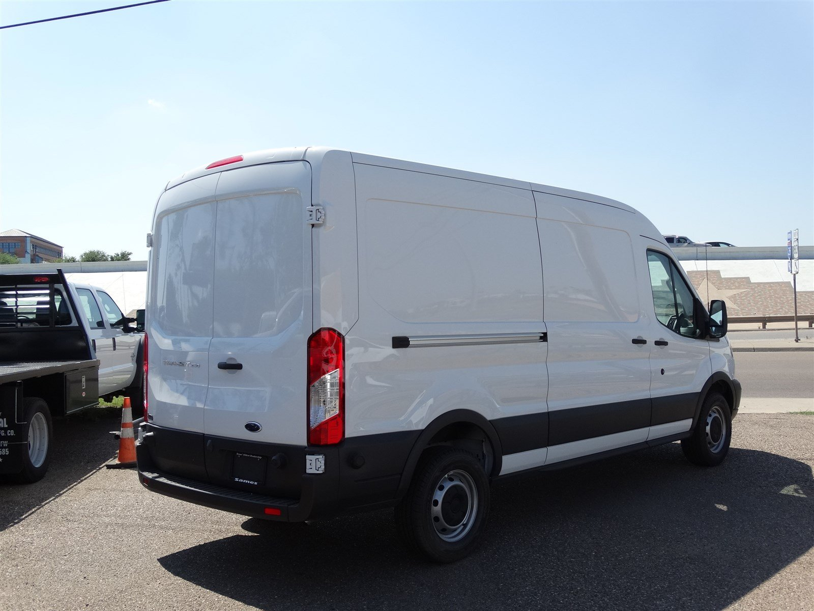 2017 Transit 250 Med Roof,  Empty Cargo Van #FA51992 - photo 3