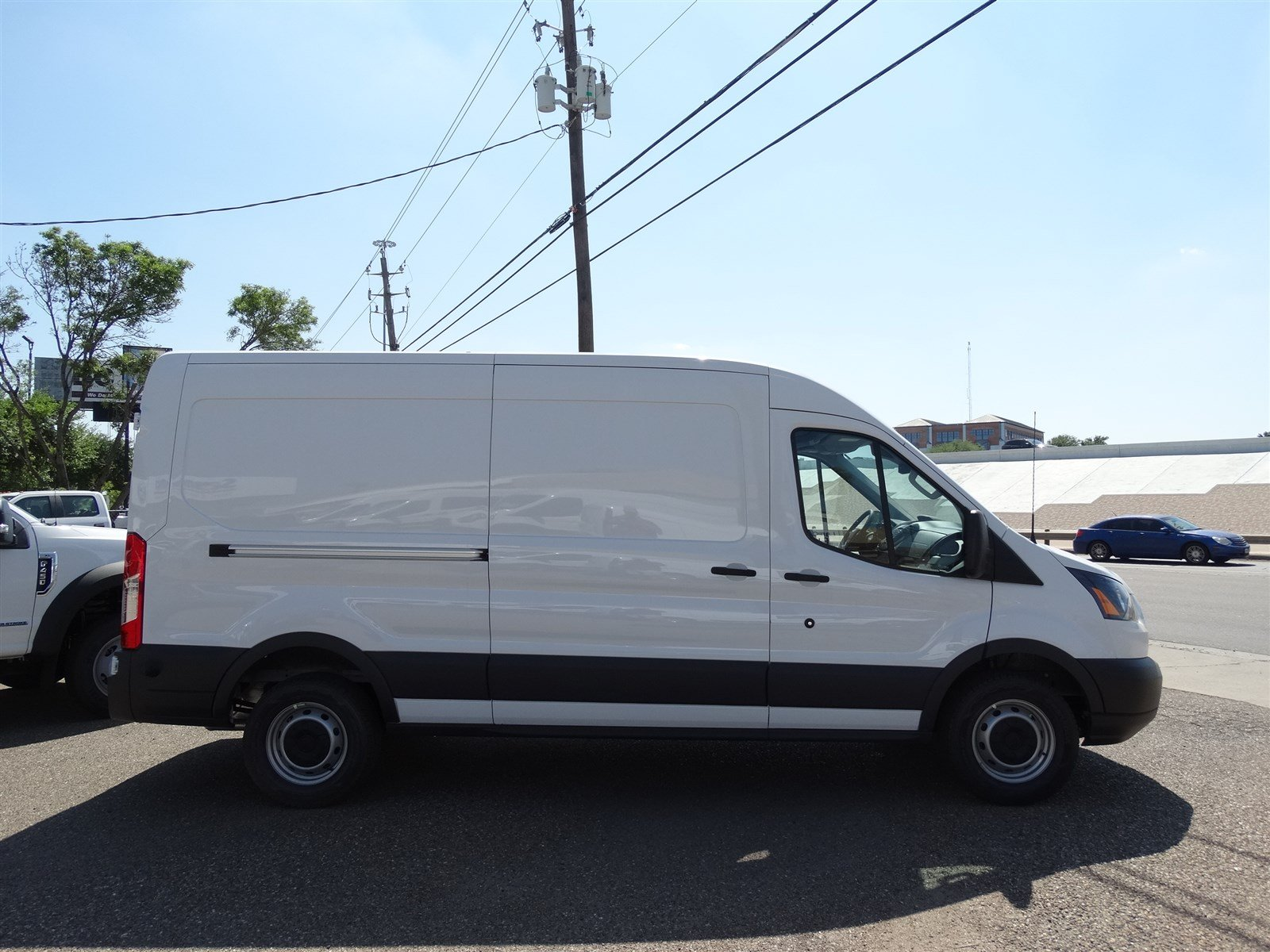 2017 Transit 250 Med Roof,  Empty Cargo Van #FA51992 - photo 4