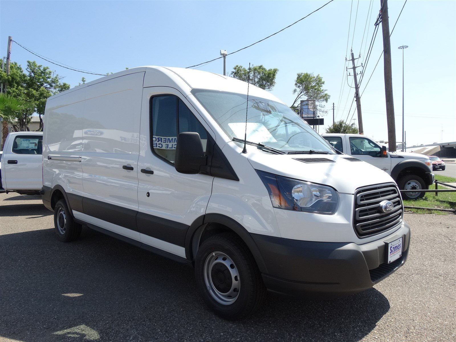 2017 Transit 250 Med Roof,  Empty Cargo Van #FA51992 - photo 5
