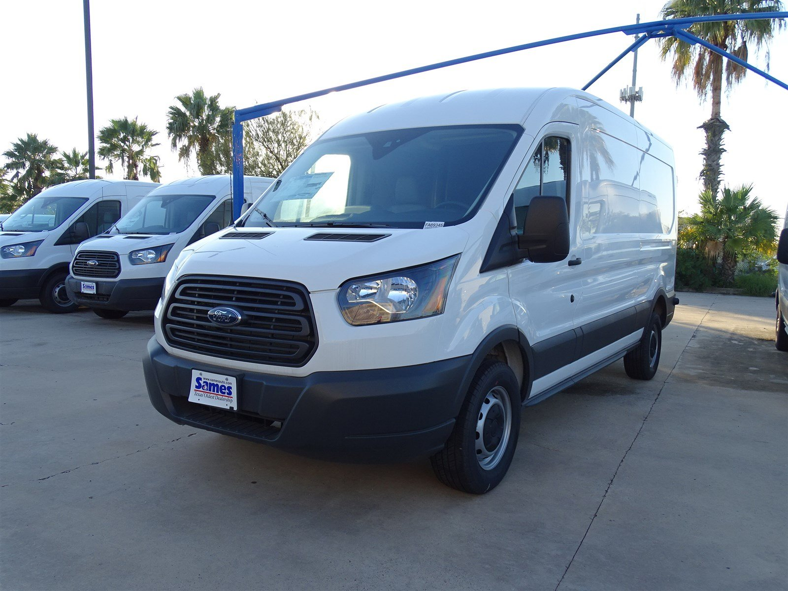 2017 Transit 250 Med Roof,  Empty Cargo Van #FA89345 - photo 6