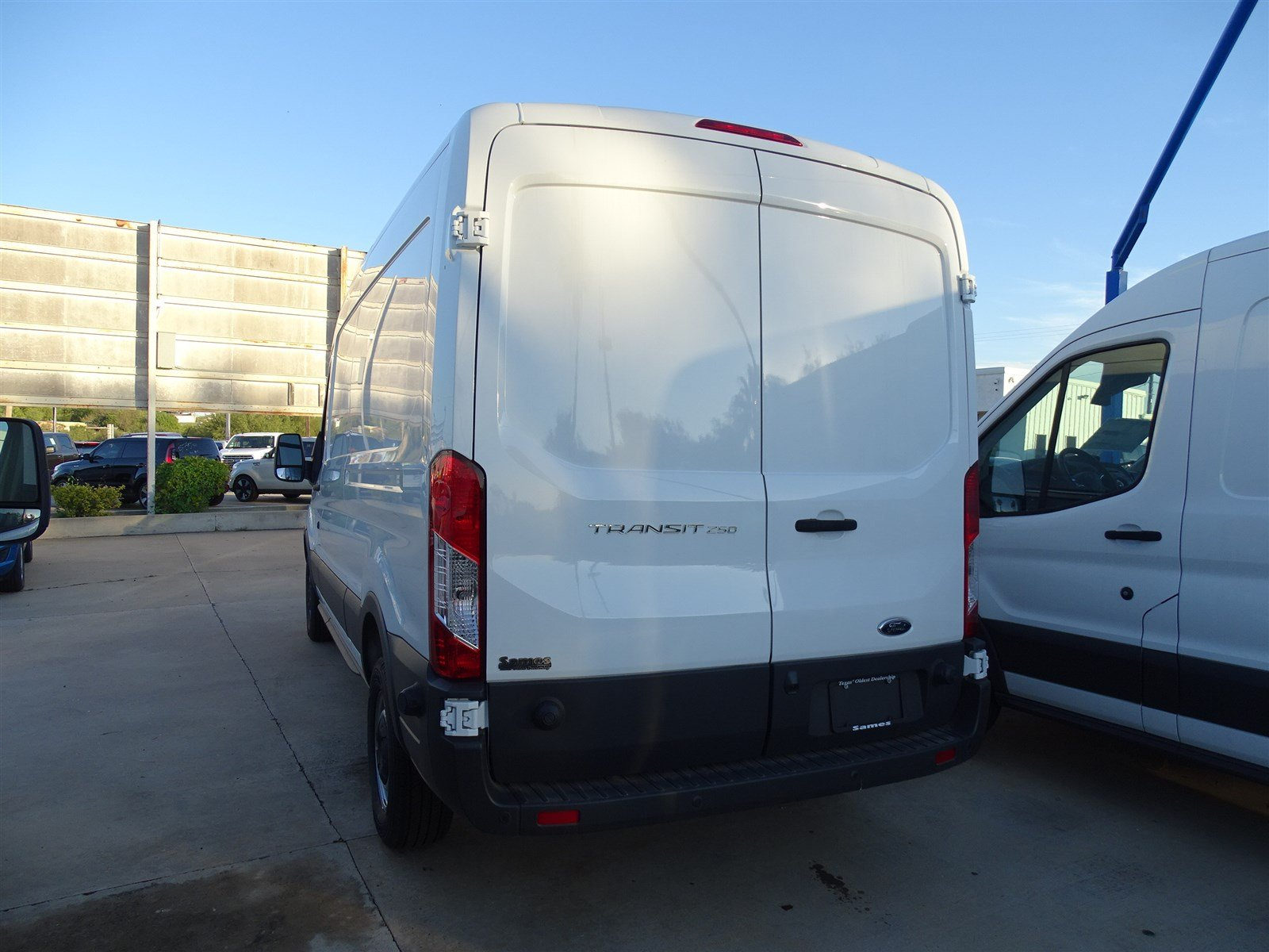 2017 Transit 250 Med Roof,  Empty Cargo Van #FA89345 - photo 3