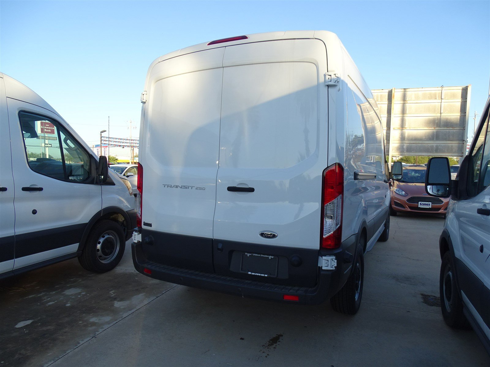 2017 Transit 250 Med Roof,  Empty Cargo Van #FA89345 - photo 4