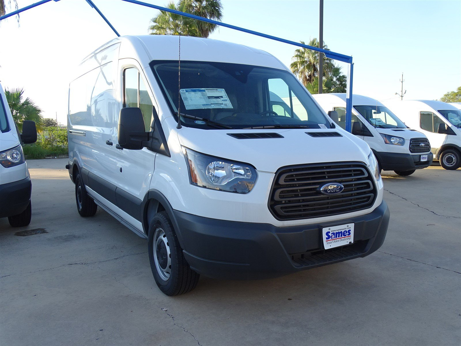 2017 Transit 250 Med Roof,  Empty Cargo Van #FA89345 - photo 5