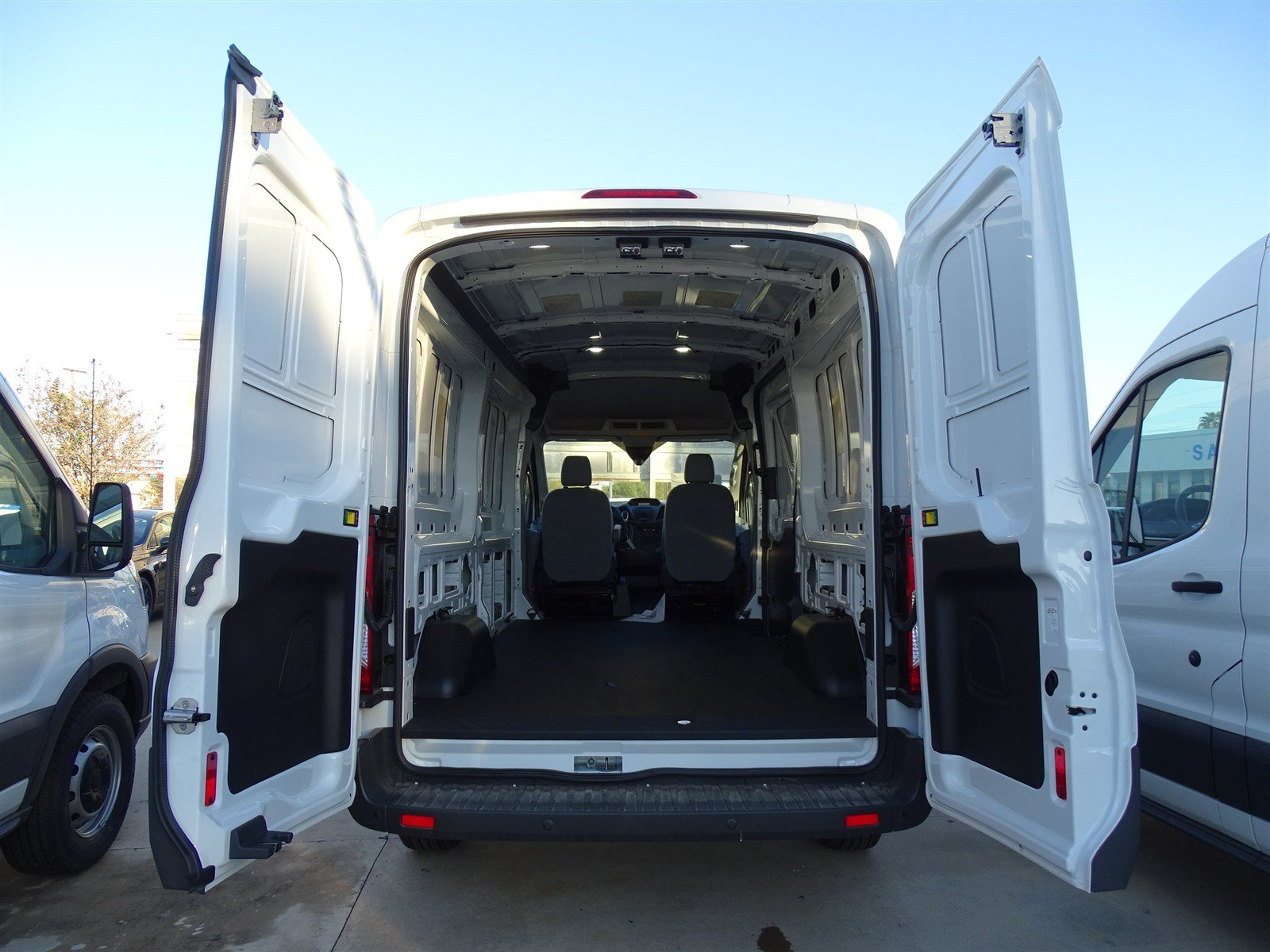 2017 Transit 250 Med Roof,  Empty Cargo Van #FA89345 - photo 2