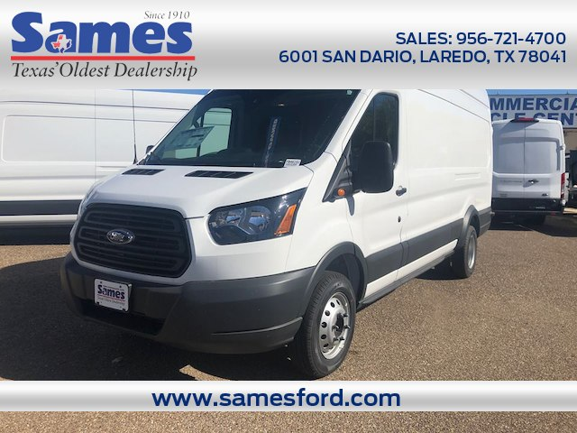 2018 Transit 350 HD High Roof DRW 4x2,  Empty Cargo Van #FB46151 - photo 1