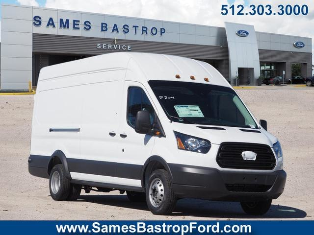 2018 Transit 350 HD High Roof DRW 4x2,  Empty Cargo Van #JKB46119 - photo 1